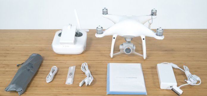 Phantom 4 Advanced unboxing Phantom 4 Advanced unboxing