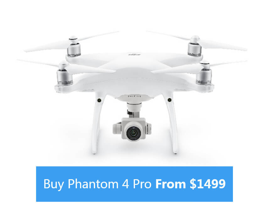 Buy Phantom 4 Pro from $1499