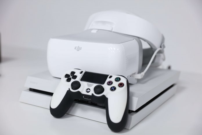 DJI Goggles for movies and gaming