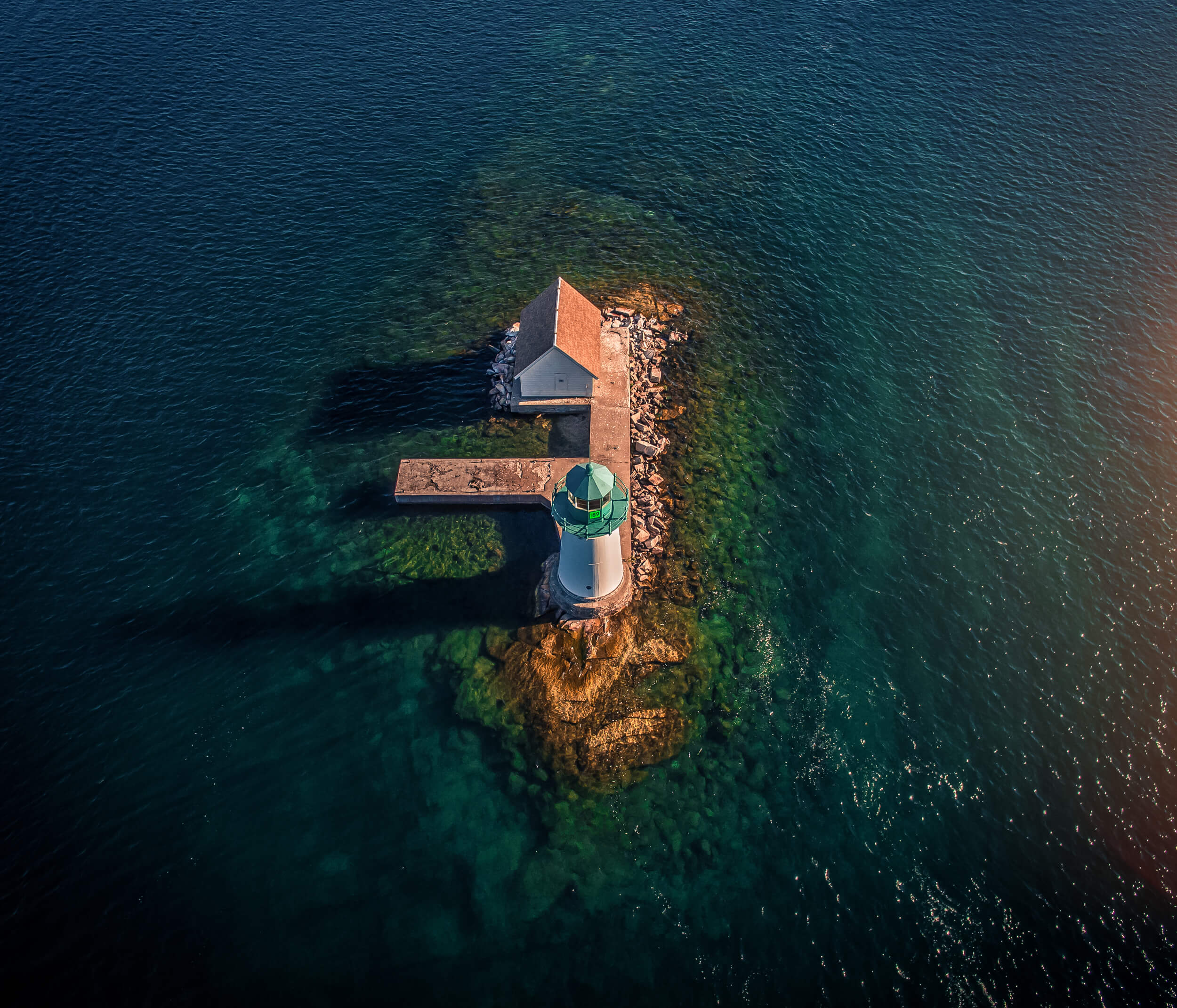 Photo: Lighthouse Islands – Inspire 1 and Zenmuse X5
