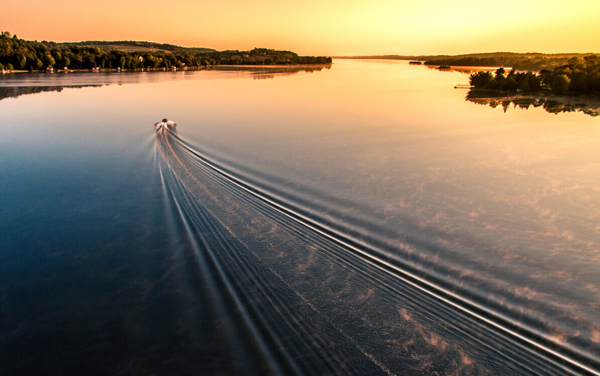Sunrise Lake Wake-Inspire 1 X3