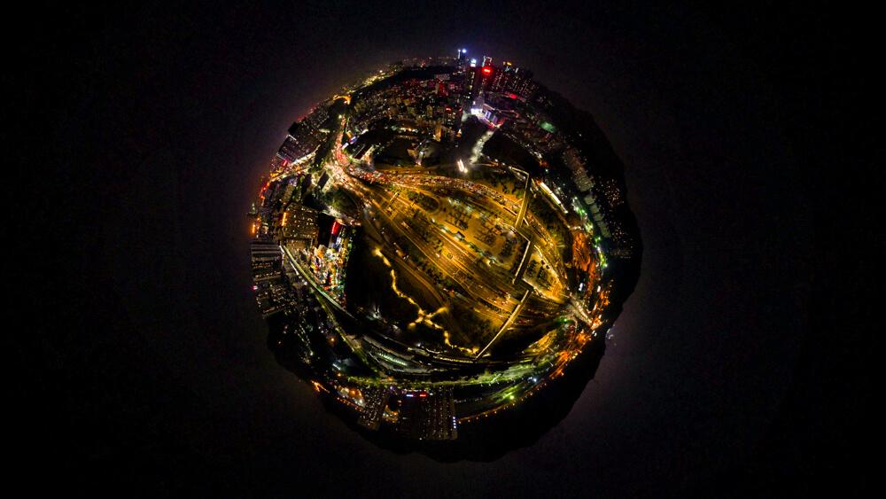 chụp toàn cảnh Sphere