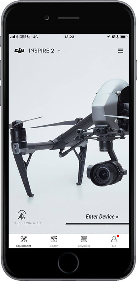 DJI Go 4 Manual Entry