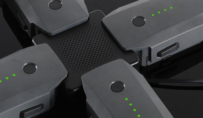 DJI drone accessories batteries charging-hub-690x400