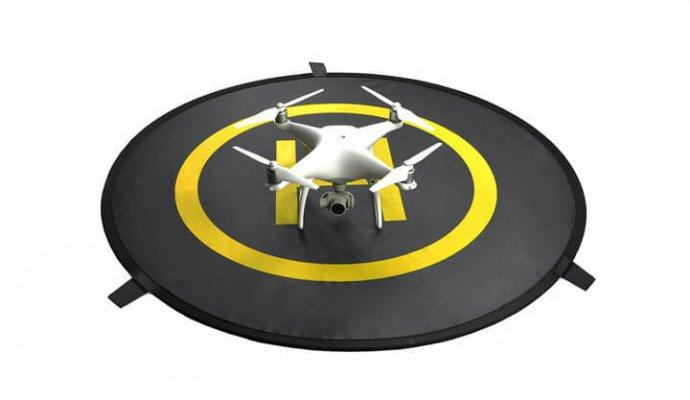 DJI quadcopter parts landing pad-690x400