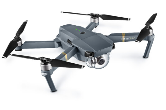 Follow me drone - dji mavic pro