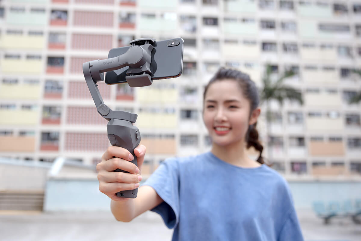 DJI OSMO Mobile 3 (Combo) Handy Convenience