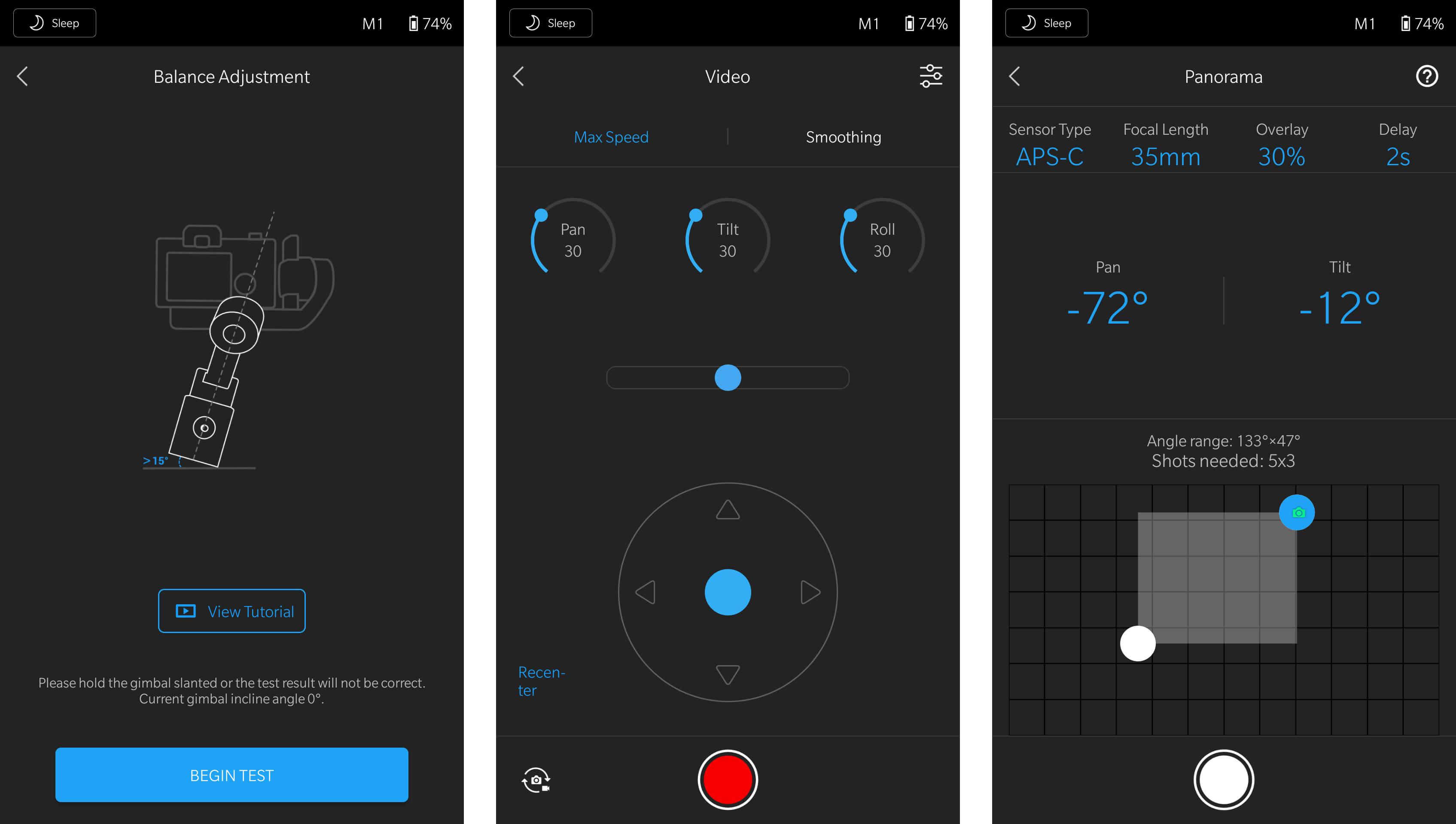 Ronin-SC app