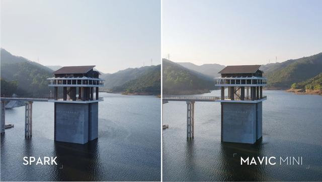 Mavic Mini vs Spark