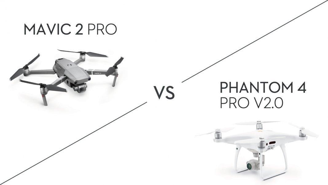 大疆精灵4 pro v2.0和御2专业版对比