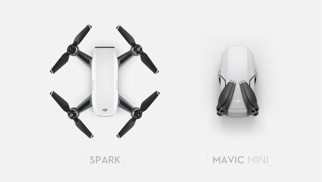 Mavic Mini vs DJI Spark