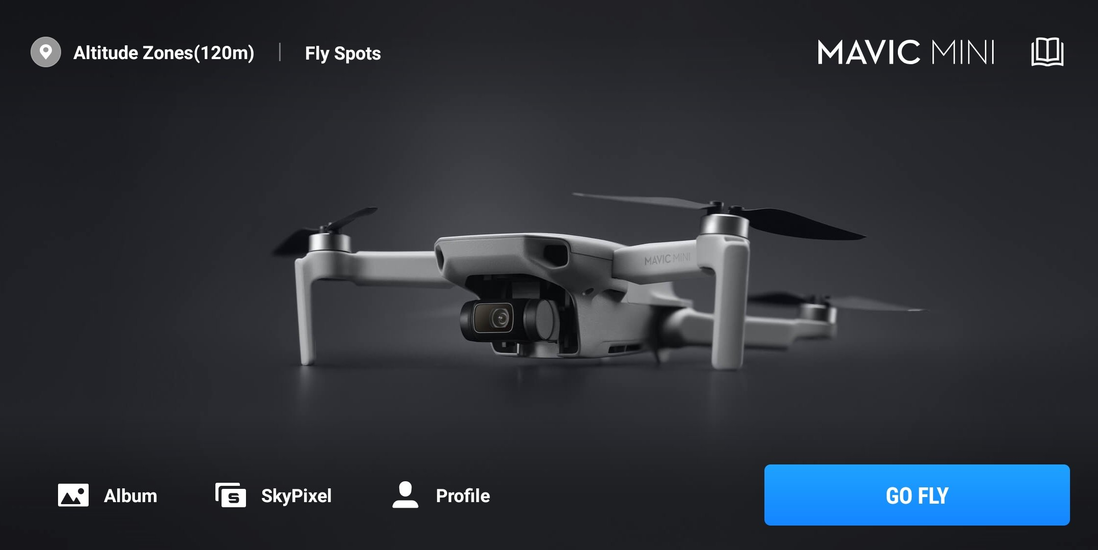 DJI Fly app Go Fly icon