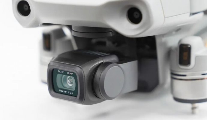 The Gimbal of Mavic Air 2