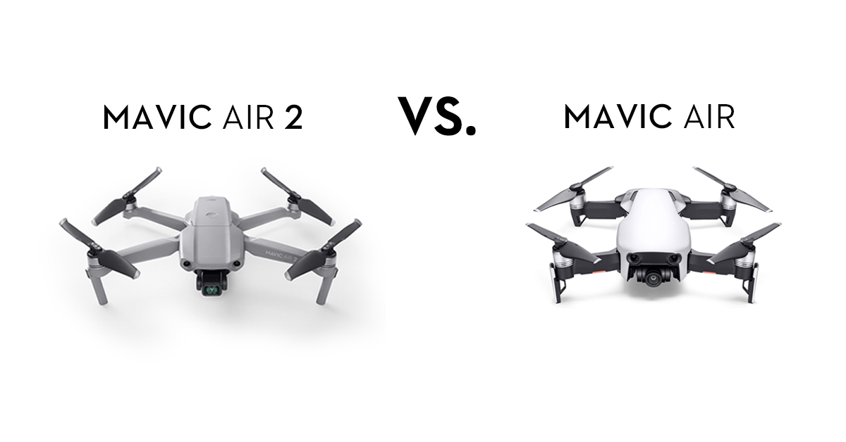Compare Dji Mavic Air 2 Vs Mavic Air Dji Guides
