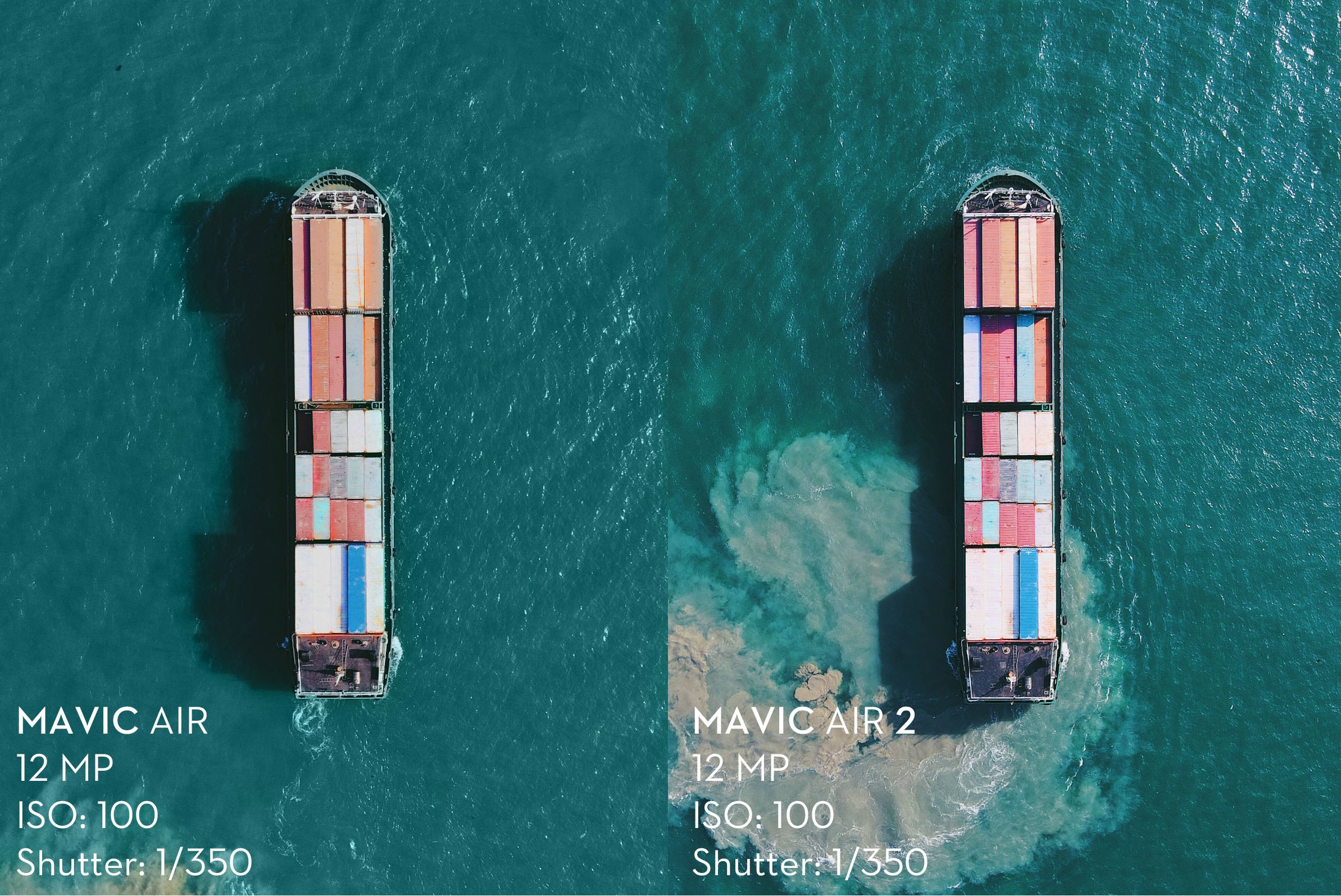 Mavic Air 2 vs Mavic Air Color