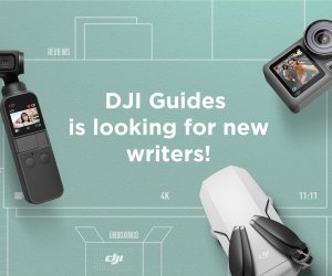 DJI guides writer recruitment