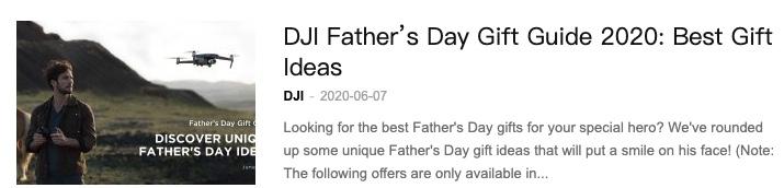 dji father's day sale