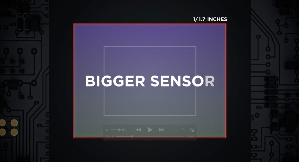 DJI Pocket 2 bigger sensor
