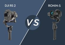 DJI RS 2 vs. DJI Ronin S