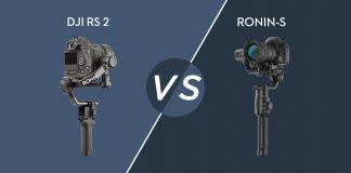 DJI RS 2 vs. DJI Ronin S