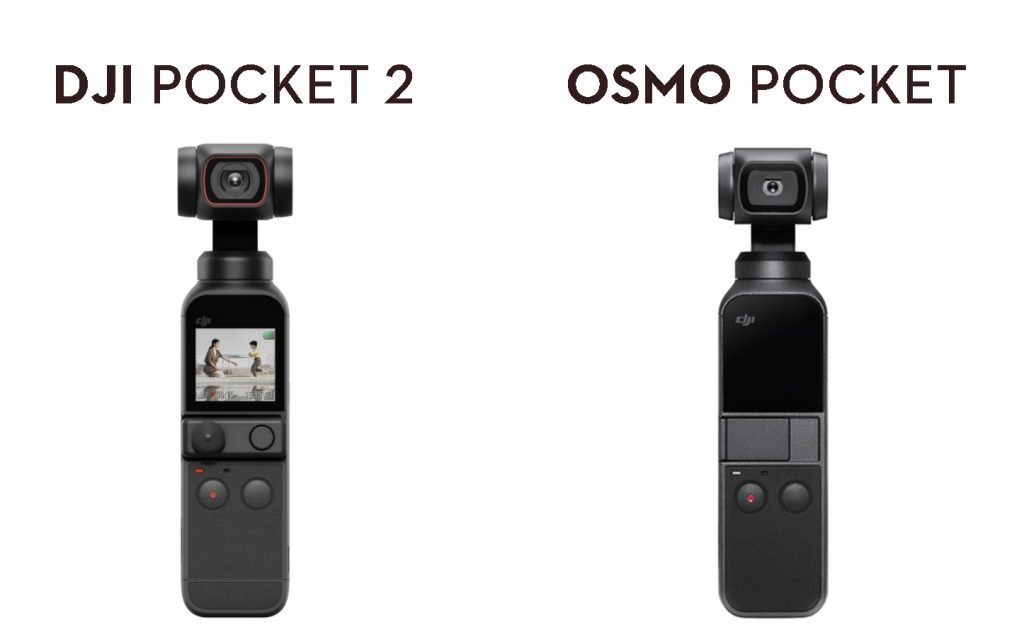 The DJI Osmo Pocket and DJI Pocket 2