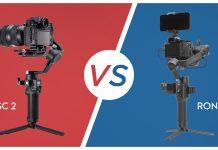 DJI RSC 2 vs. DJI Ronin SC