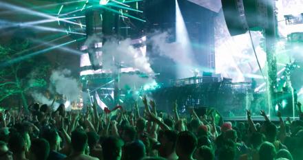 DJI OSMO RAWの活用事例 -音楽フェス「ULTRA MIAMI」