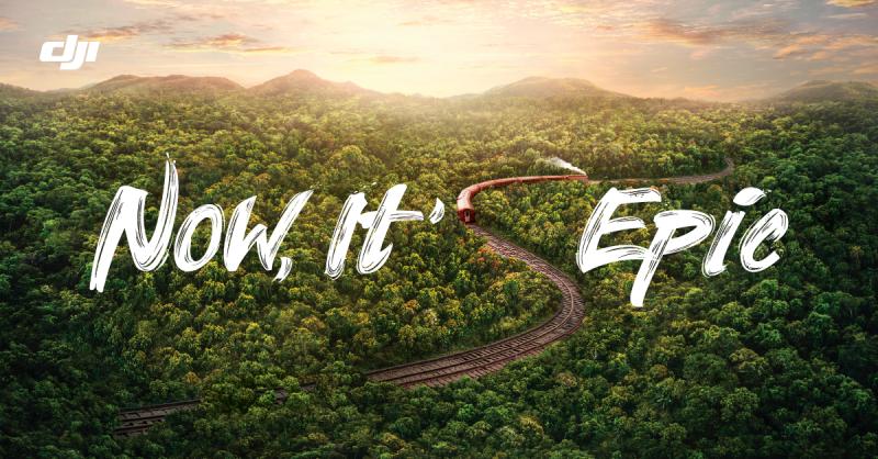 DJI 新コンテスト「Now It's Epic」を開催