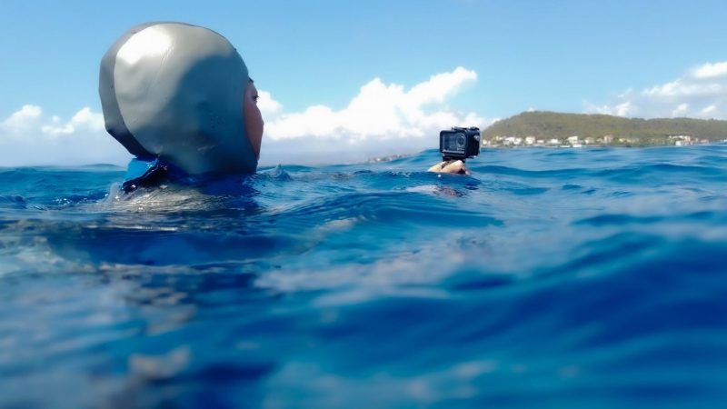 Osmo Actionで 映画のような水中映像を