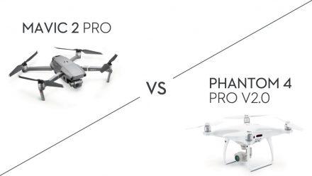Phantom 4 Pro V2.0と Mavic 2 Pro: どちらのドローンを買うべきか?
