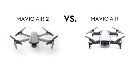Mavic Air 2とMavic Air:性能比較