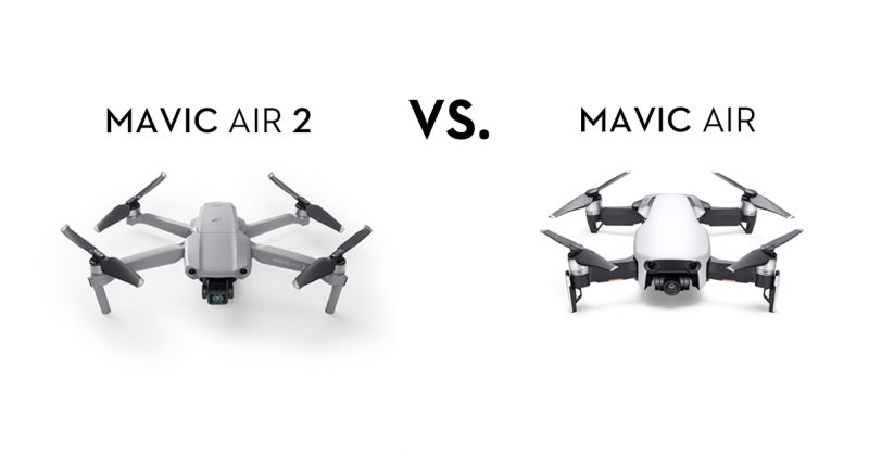 Mavic Air 2とMavic Air:性能比較