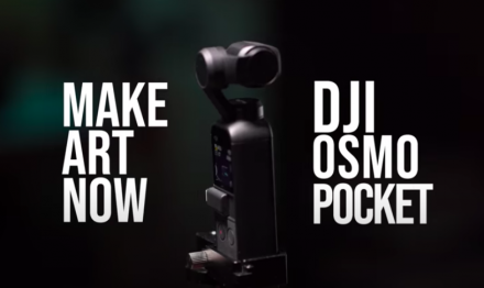 Osmo Pocketで撮影するハリウッドショット(Feat. Make.Art.Now.)