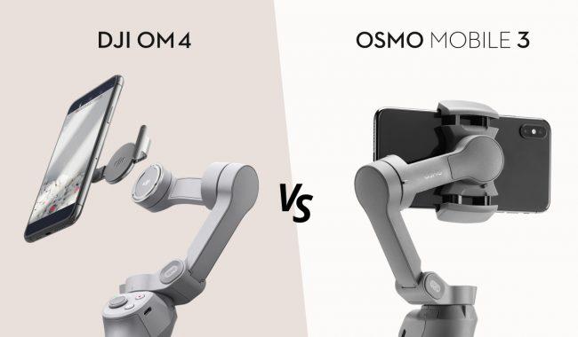 DJI OM 4 vs Osmo Mobile 3 性能比較
