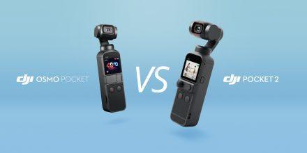 DJI Pocket 2 vs Osmo Pocket: 製品比較