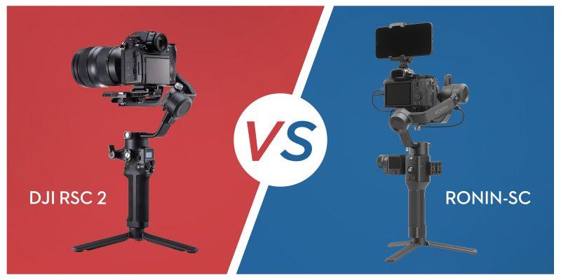 DJI RSC 2 vs. Ronin-SC 製品比較