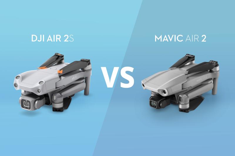 DJI Air 2S vs. Mavic Air 2:最高のオールインワン型ドローン