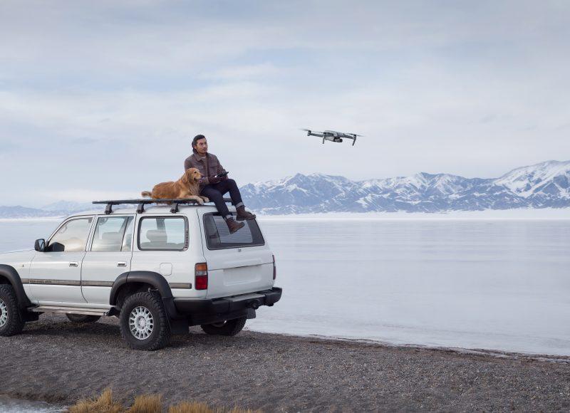 DJI Air 2S、タップするだけでシネマティックなドローン映像を撮影