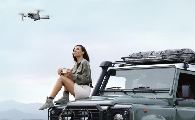 더욱 향상된 카메라 기능으로 돌아온 매빅 Air 2