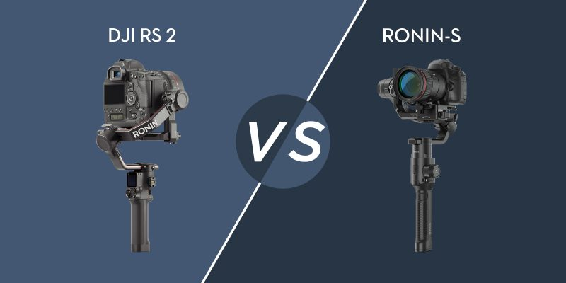 DJI RS 2 vs. 로닌-S 비교