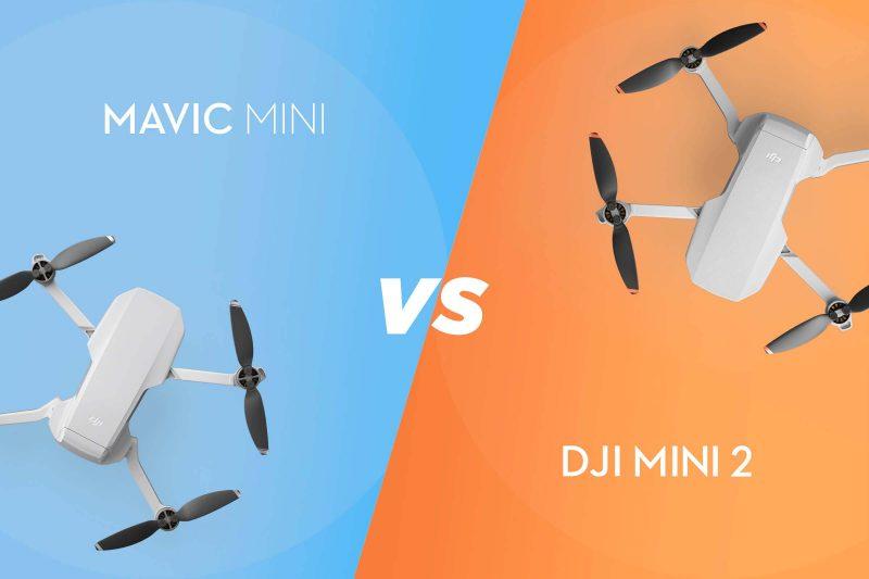 DJI Mini 2 vs. 매빅 Mini: 최고 미니 드론을 찾아라