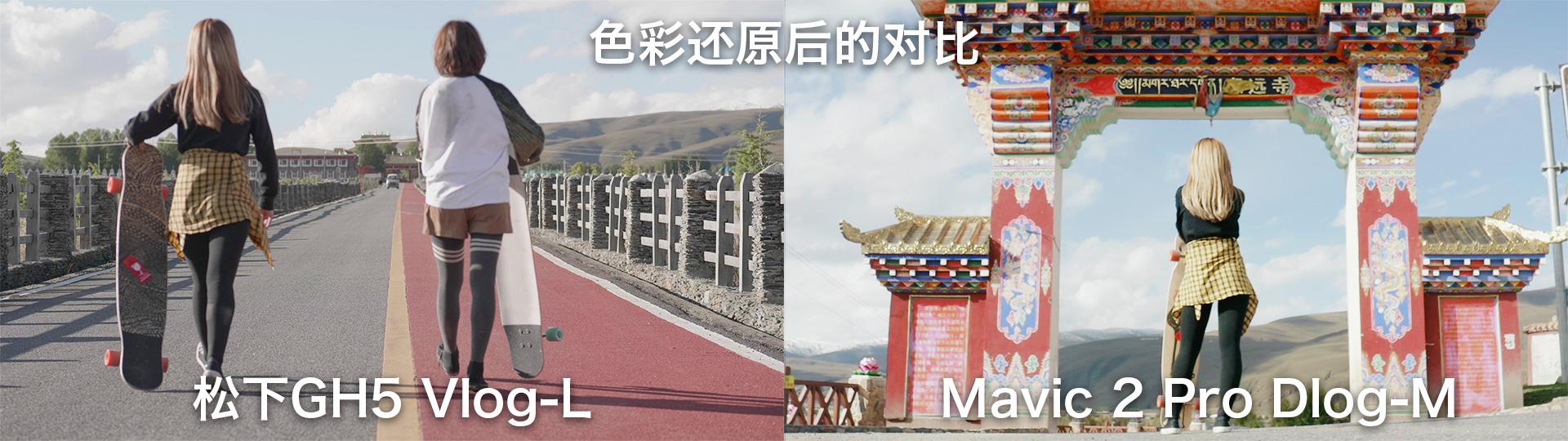 photo took by Matsushita GH5 vs. photo took by mavic 2 pro