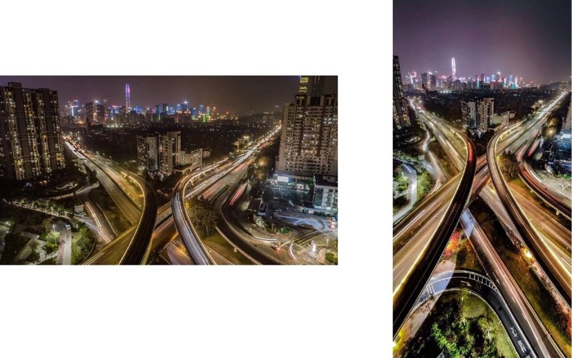 common picture vs. vertical panoramic photos
