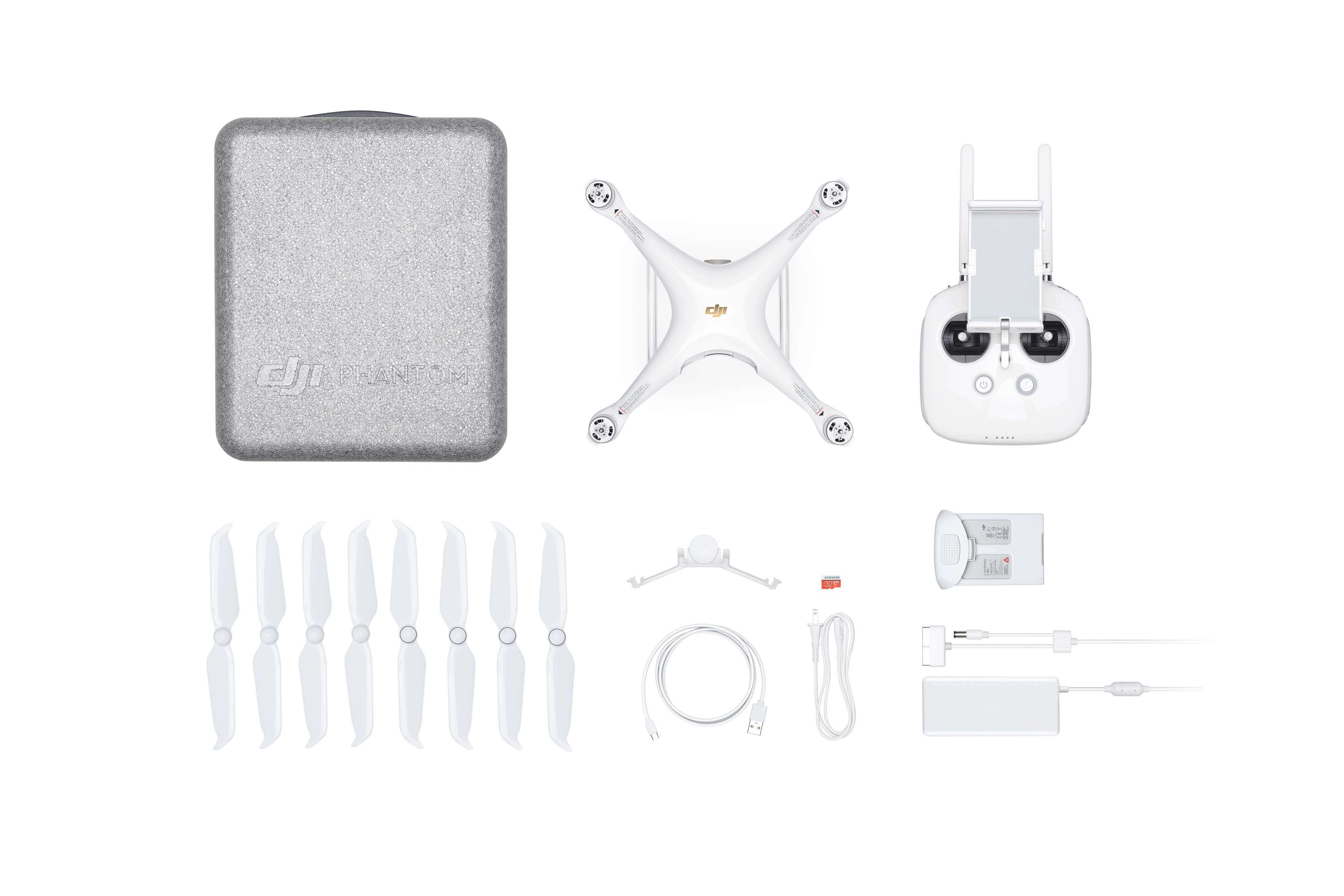 everything you got when you buy Phantom 4 Pro V2.0