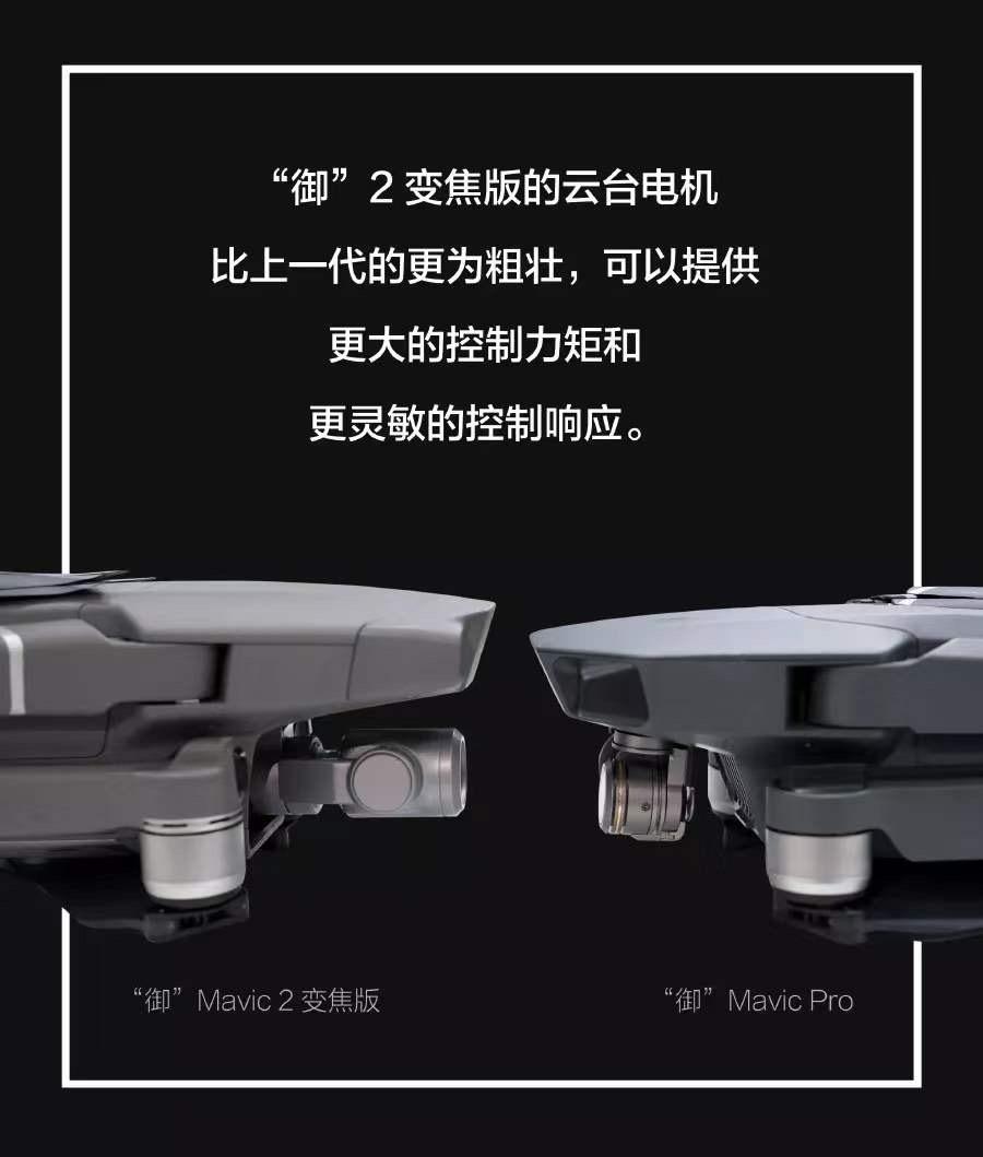Mavic 2稳定的云台