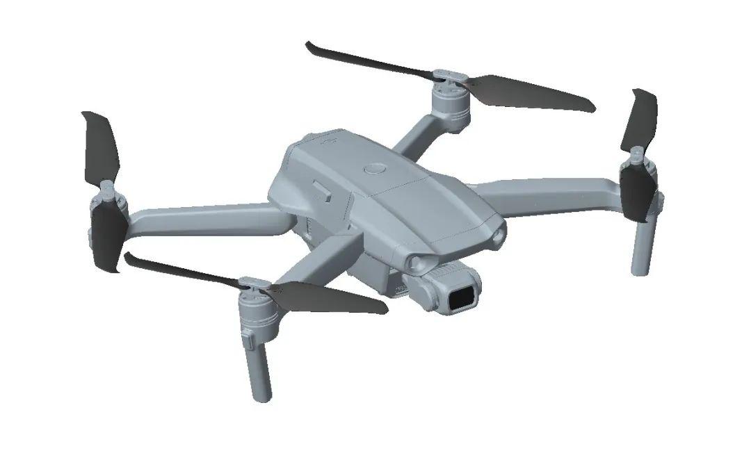 3D model of mavic air 2