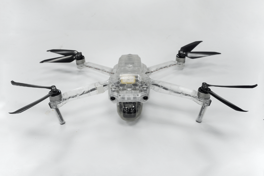 the first structure assembled model of mavic air 2