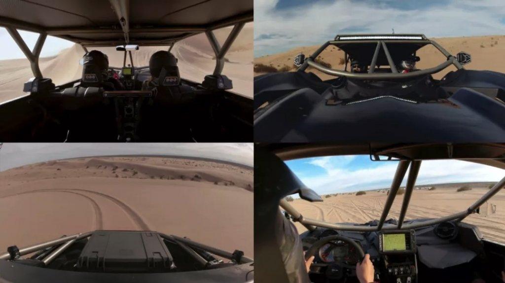 大疆灵眸运动相机多角度拍摄 DJI Osmo Action multiple angles