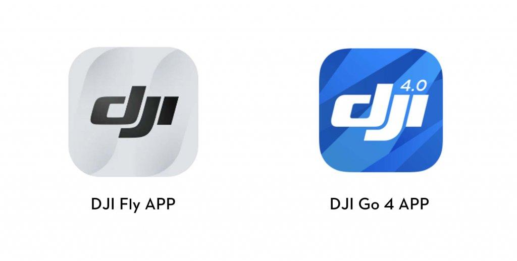DJI Fly App vs. DJI Go 4 App