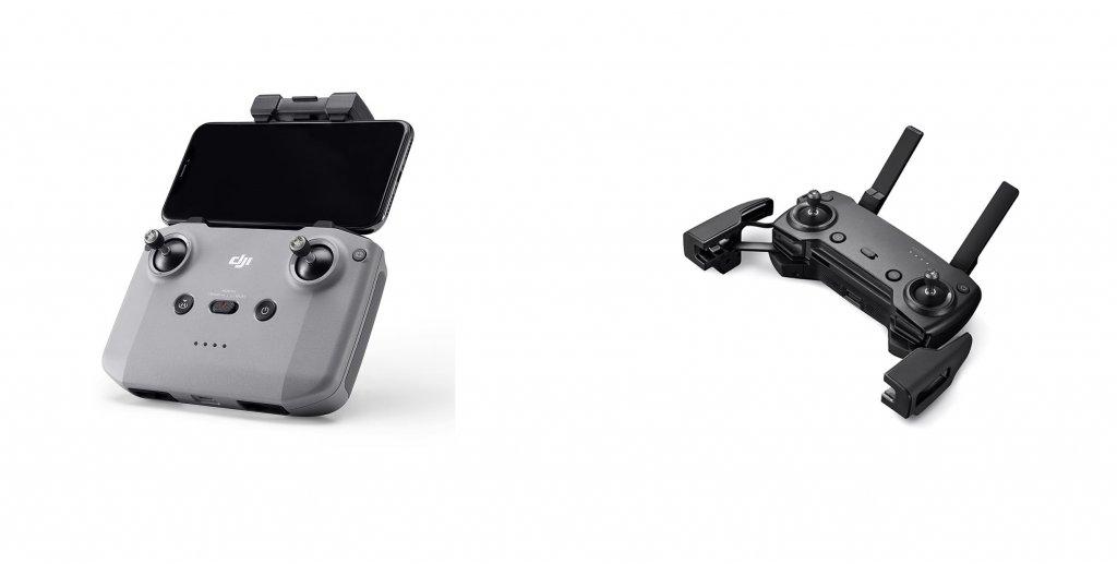 Mavic Air 2 and Mavic Air remote controller